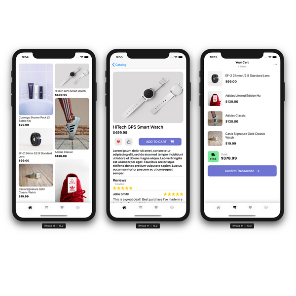 SwiftUI E-Commerce Template